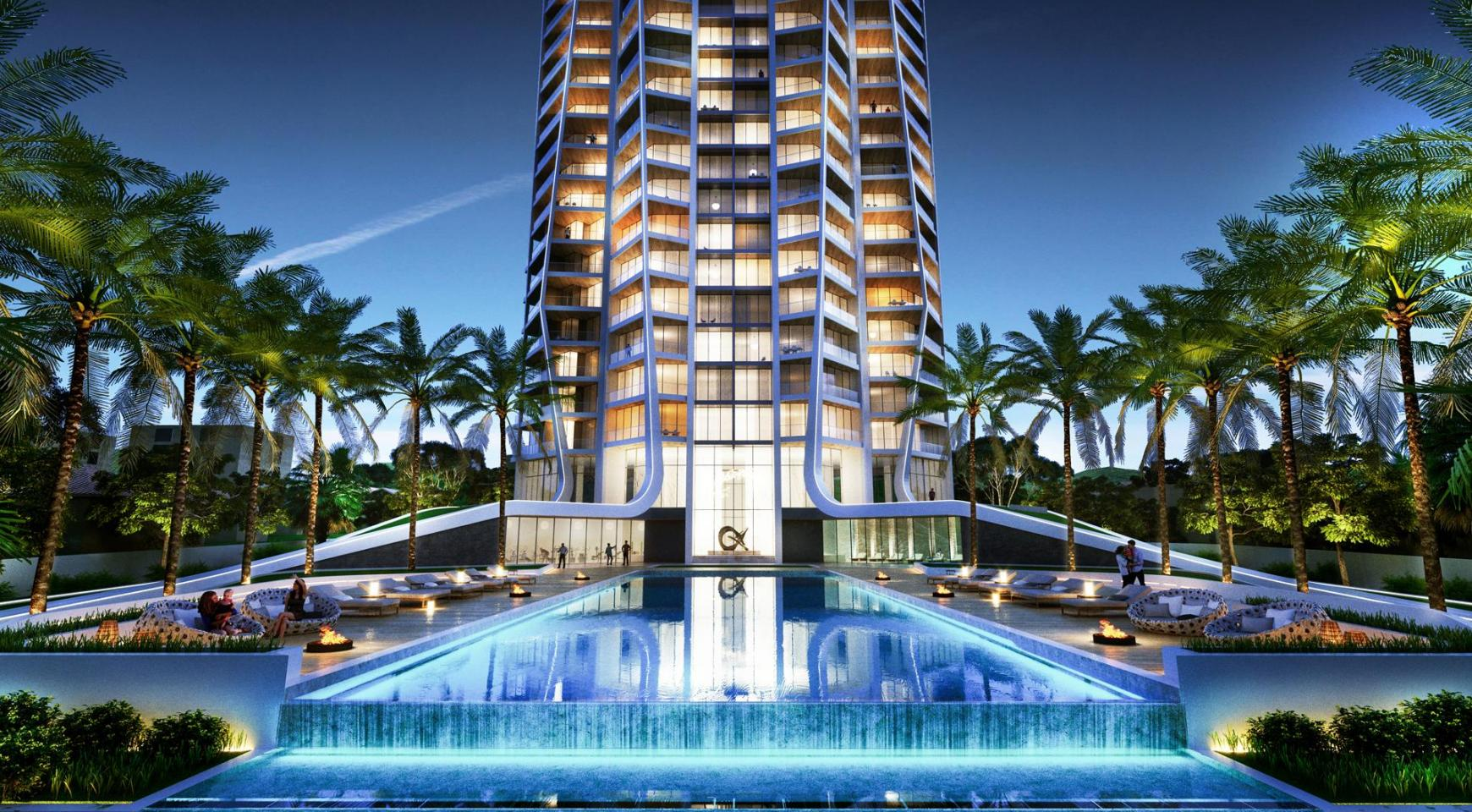 Sky Tower. Modern Spacious One Bedroom Apartment 302 near the Sea  - 2