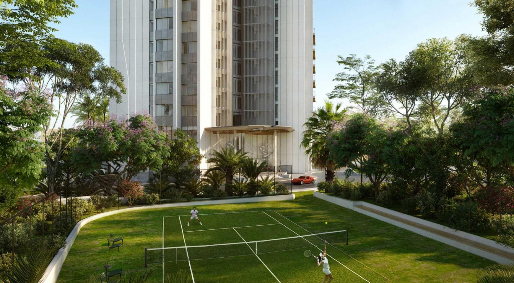 Sky Tower. Modern Spacious One Bedroom Apartment 302 near the Sea  - 11