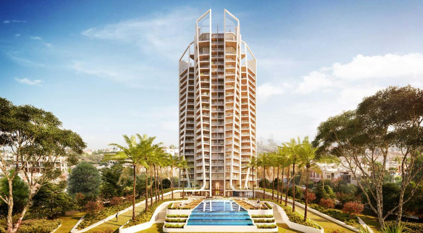 Sky Tower. Modern Spacious One Bedroom Apartment 302 near the Sea  - 9