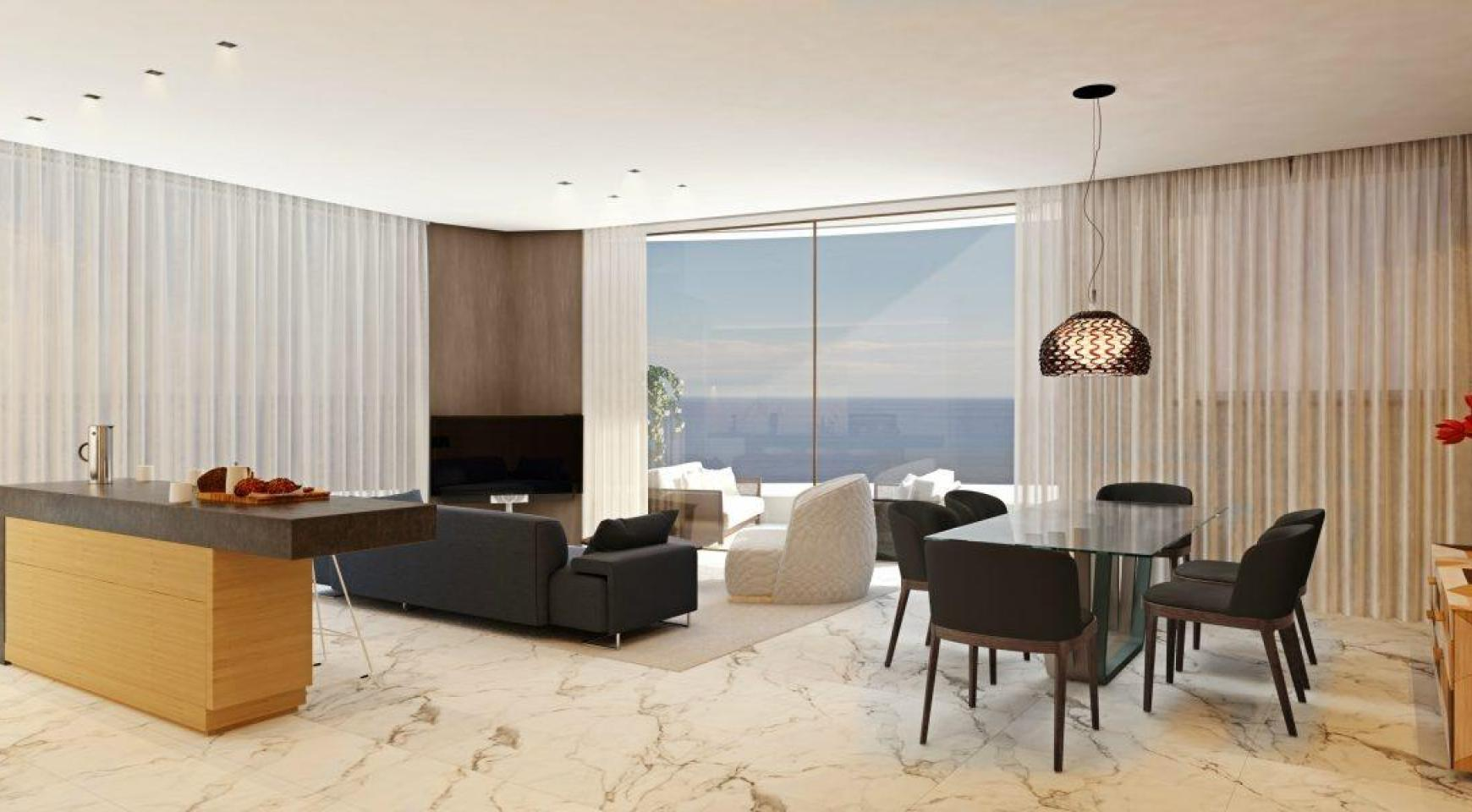 Modern 4 Bedroom Penthouse in a New Unique Project by the Sea - 15