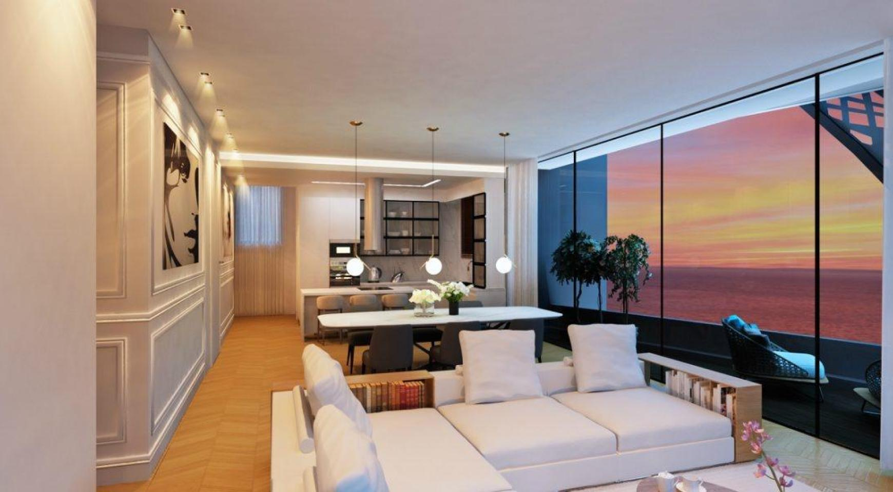 Modern 4 Bedroom Penthouse in a New Unique Project by the Sea - 12