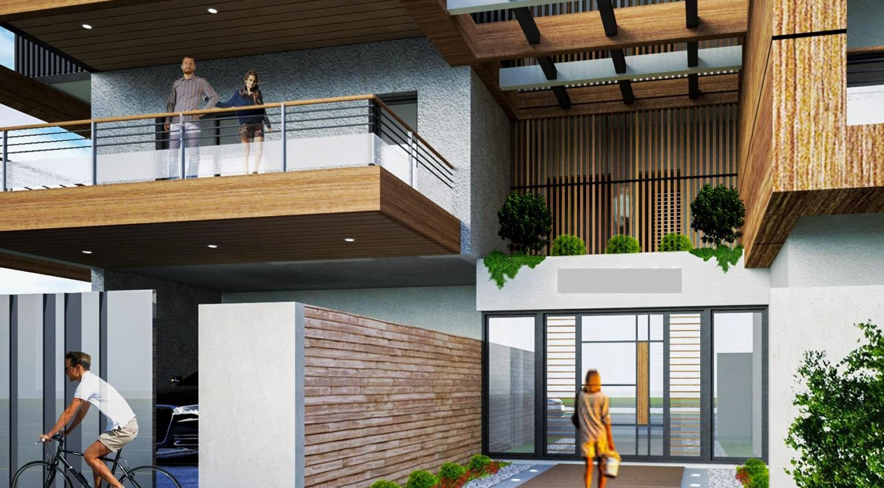 New 3 Bedroom Penthouse in a Modern Building in Columbia Area - 3