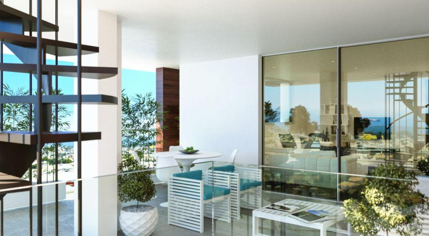 Contemporary One Bedroom Apartment in a New Project in Columbia Area - 4