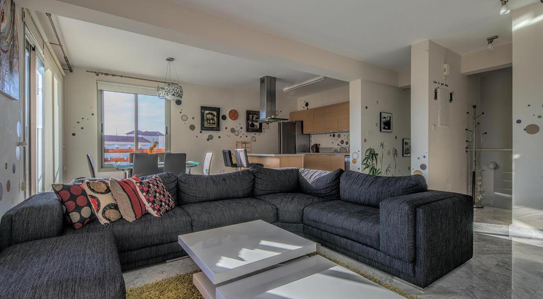 2 Bedroom Duplex Apartment Amathusa O 104 in a Prestigious Complex near the Sea  - 1