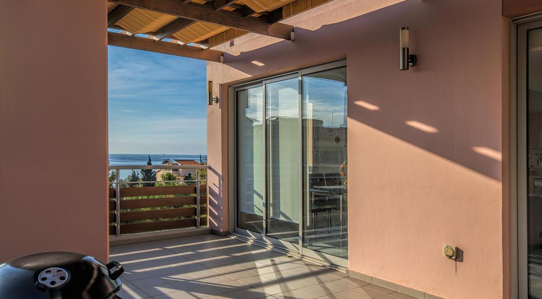 2 Bedroom Duplex Apartment Amathusa O 104 in a Prestigious Complex near the Sea  - 5