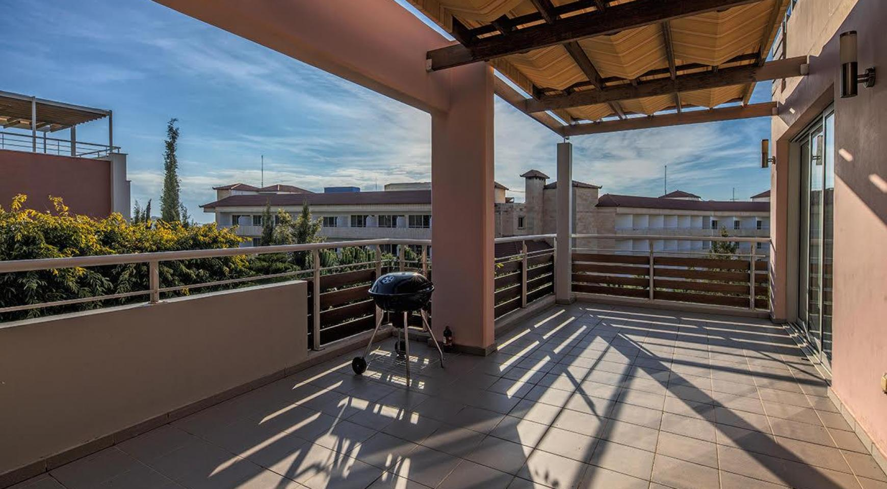 2 Bedroom Duplex Apartment Amathusa O 104 in a Prestigious Complex near the Sea  - 8
