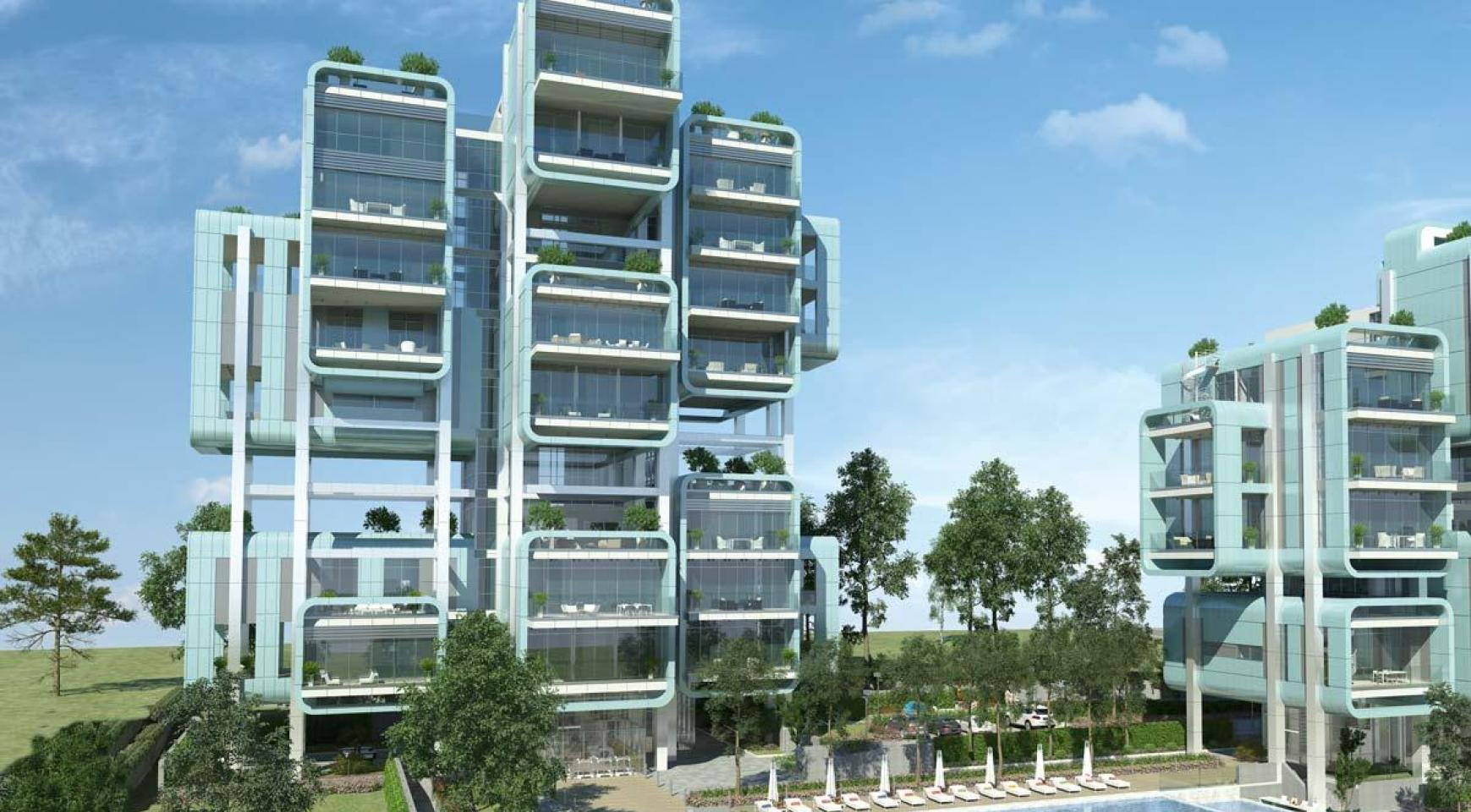 Elite 2 Bedroom Apartment with Roof Garden within a New Complex - 31
