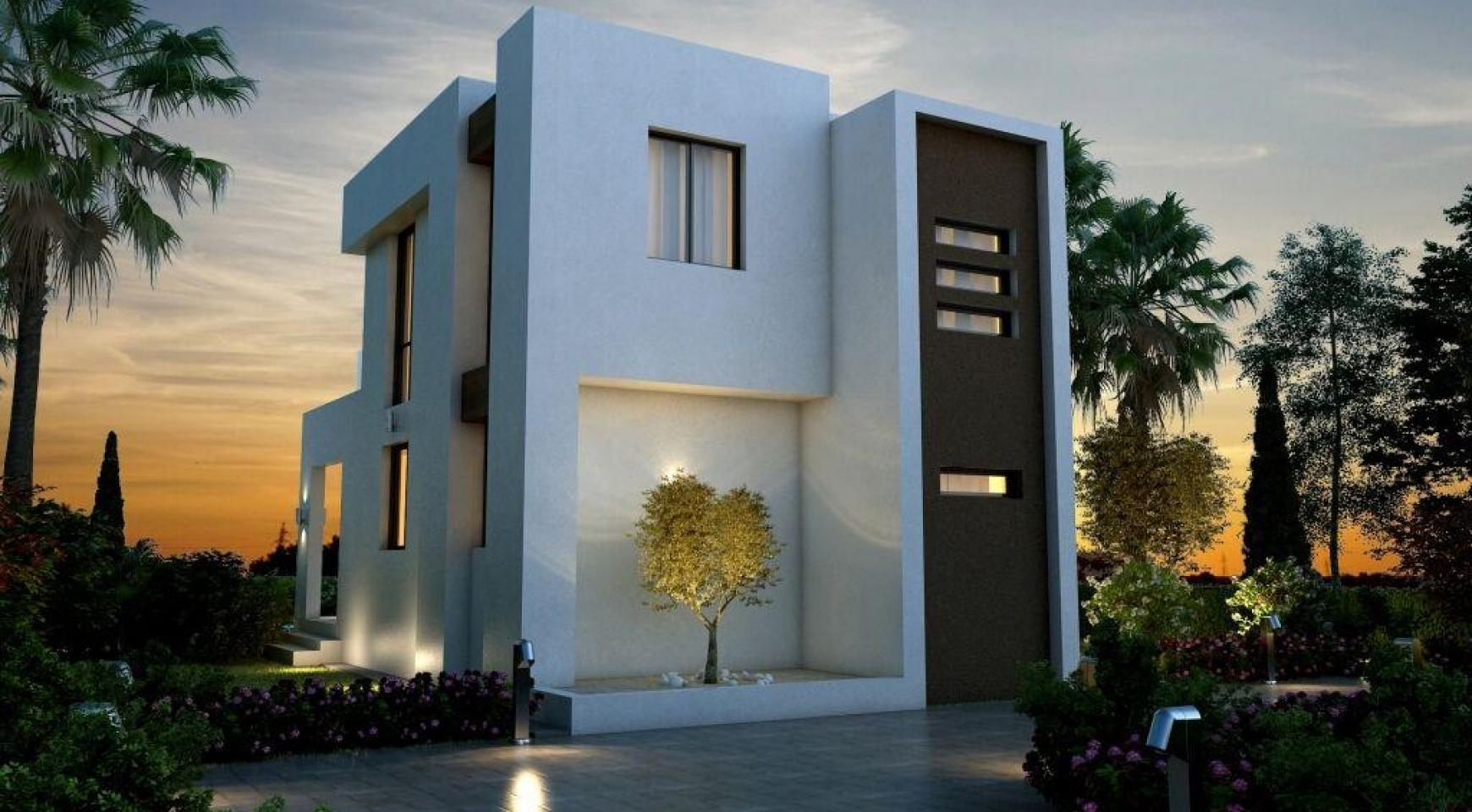 Modern 3 Bedroom Villa in a Complex near the Beach - 4