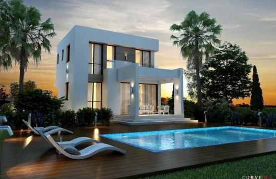 3 Bedroom Villa within a Complex near the Beach