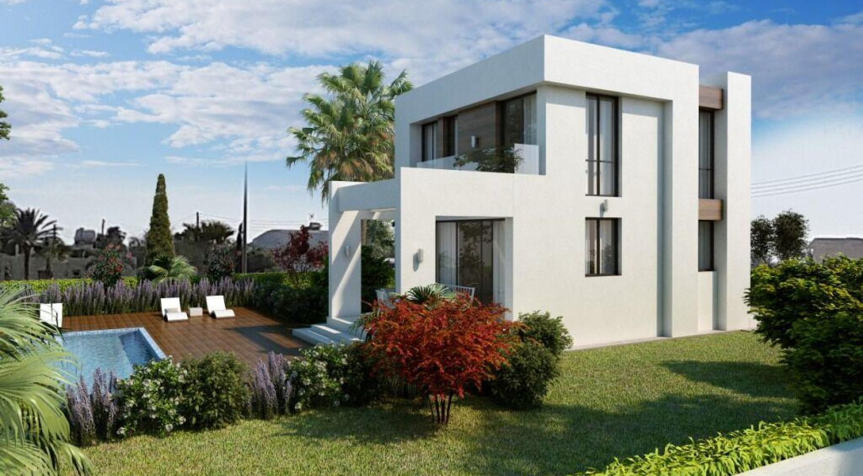 Modern 3 Bedroom Villa in a Complex near the Beach - 3