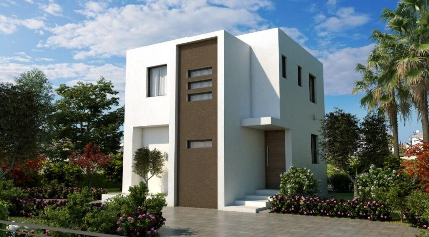 Modern 3 Bedroom Villa in a Complex near the Beach - 8