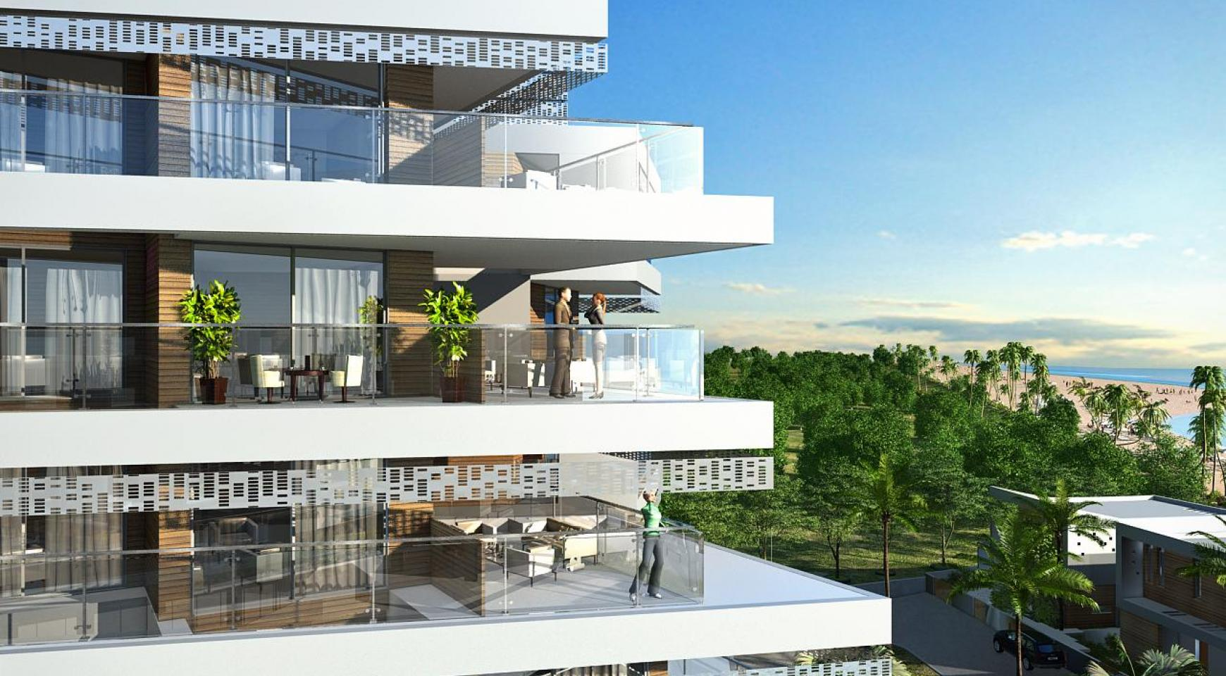 Contemporary 2 Bedroom Apartment in a New Complex by the Sea - 9