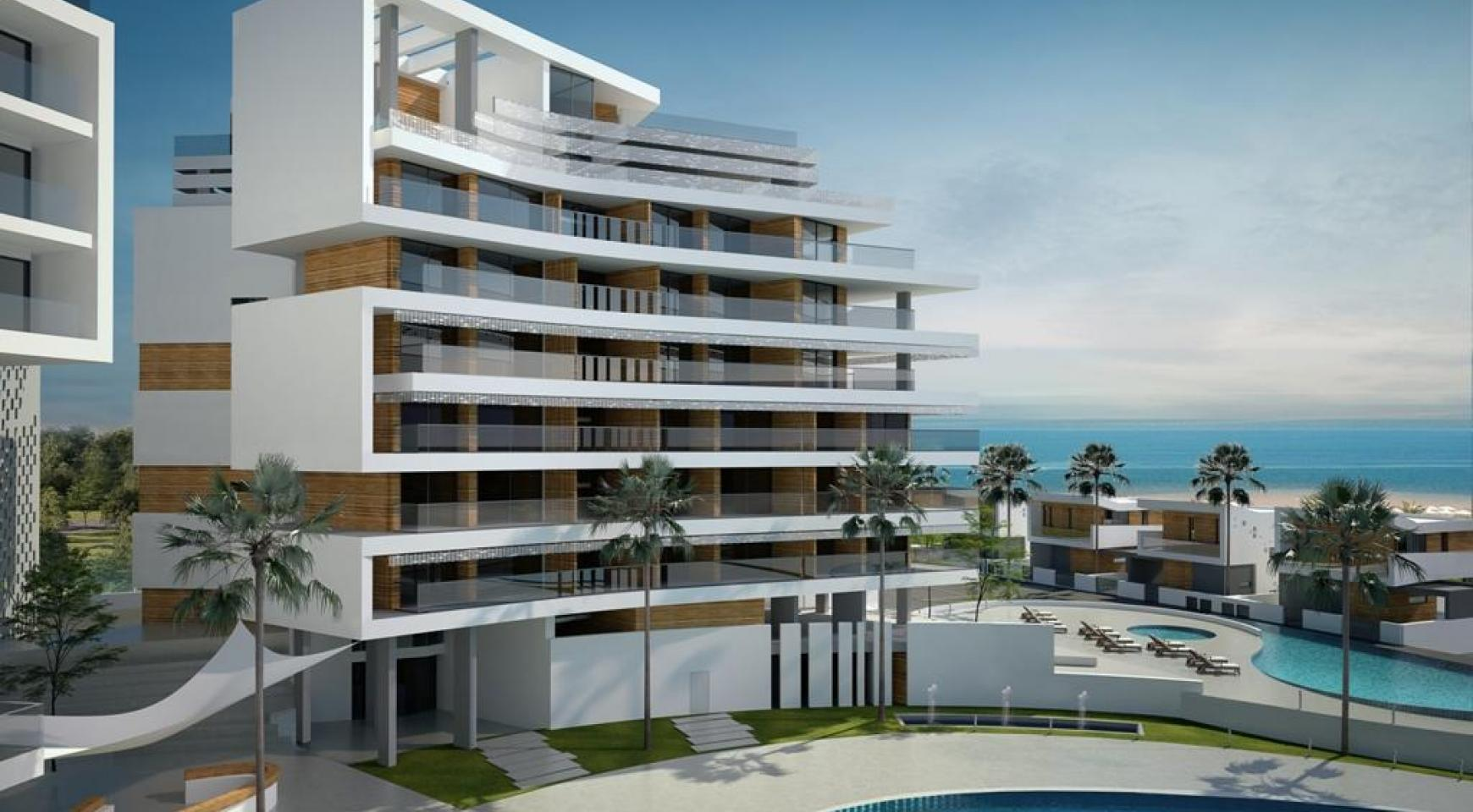 Contemporary 2 Bedroom Apartment in a New Complex by the Sea - 8