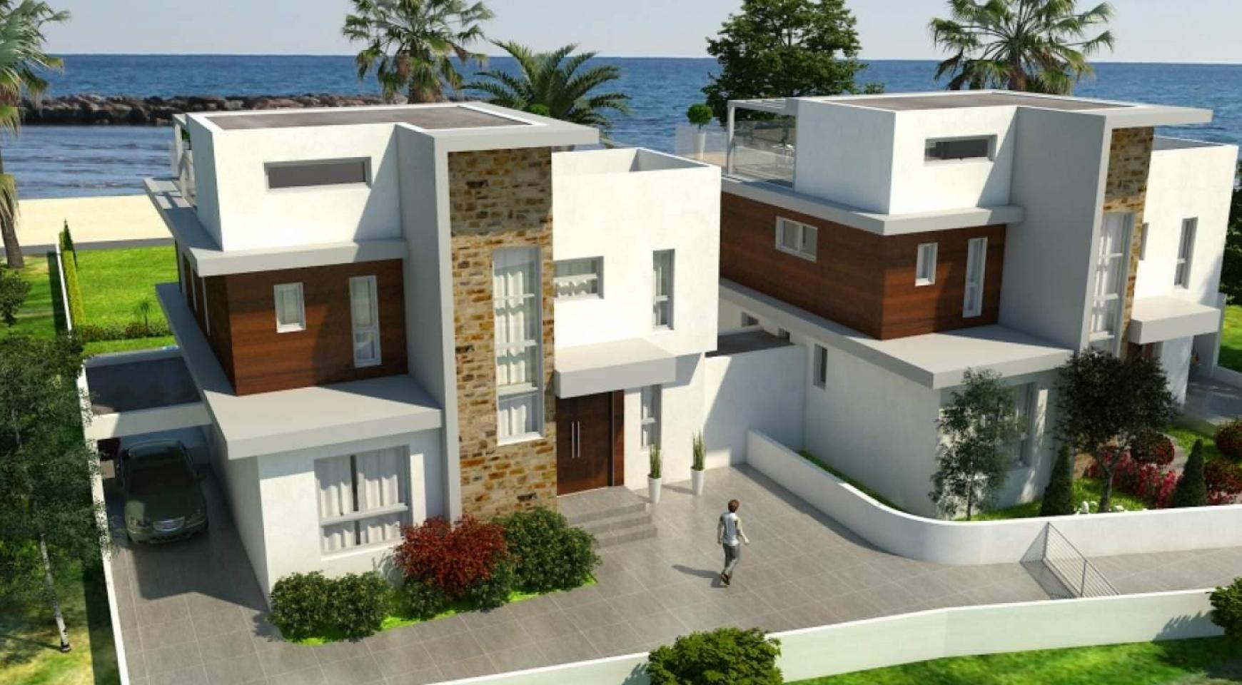 Contemporary Beachfront Villa with 5 Bedrooms - 7
