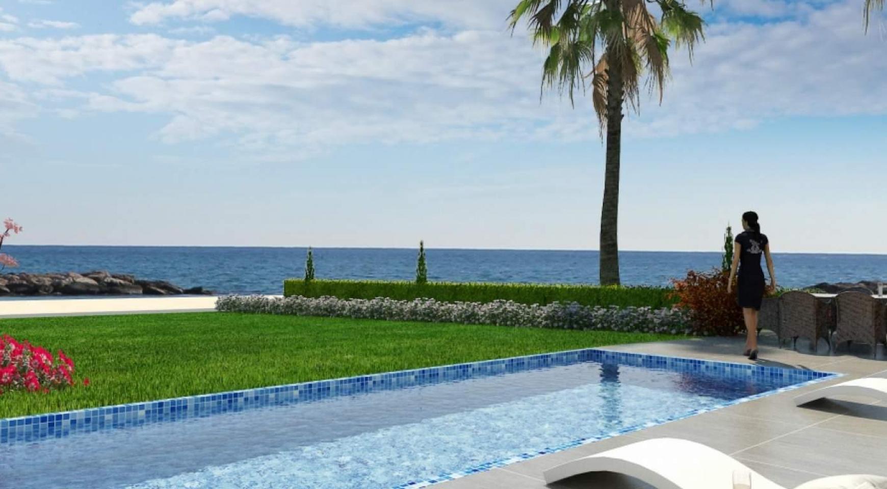 Contemporary Beachfront Villa with 5 Bedrooms - 1