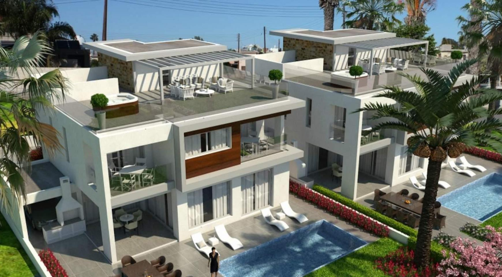 Contemporary Beachfront Villa with 5 Bedrooms - 4