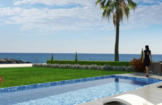 Contemporary Beachfront Villa with 5 Bedrooms