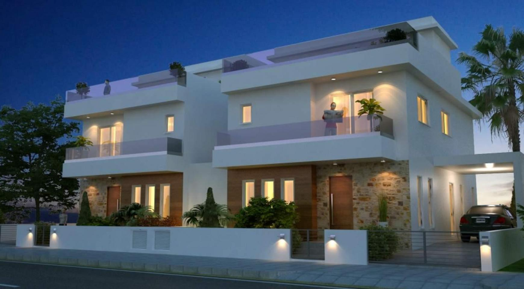 New Modern 4 Bedroom House in Leivadia Area - 3