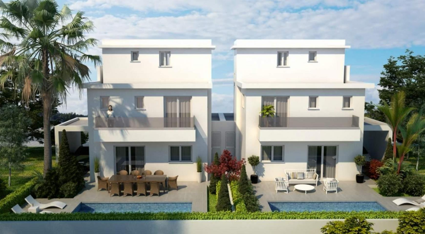 New Modern 4 Bedroom House in Leivadia Area - 5