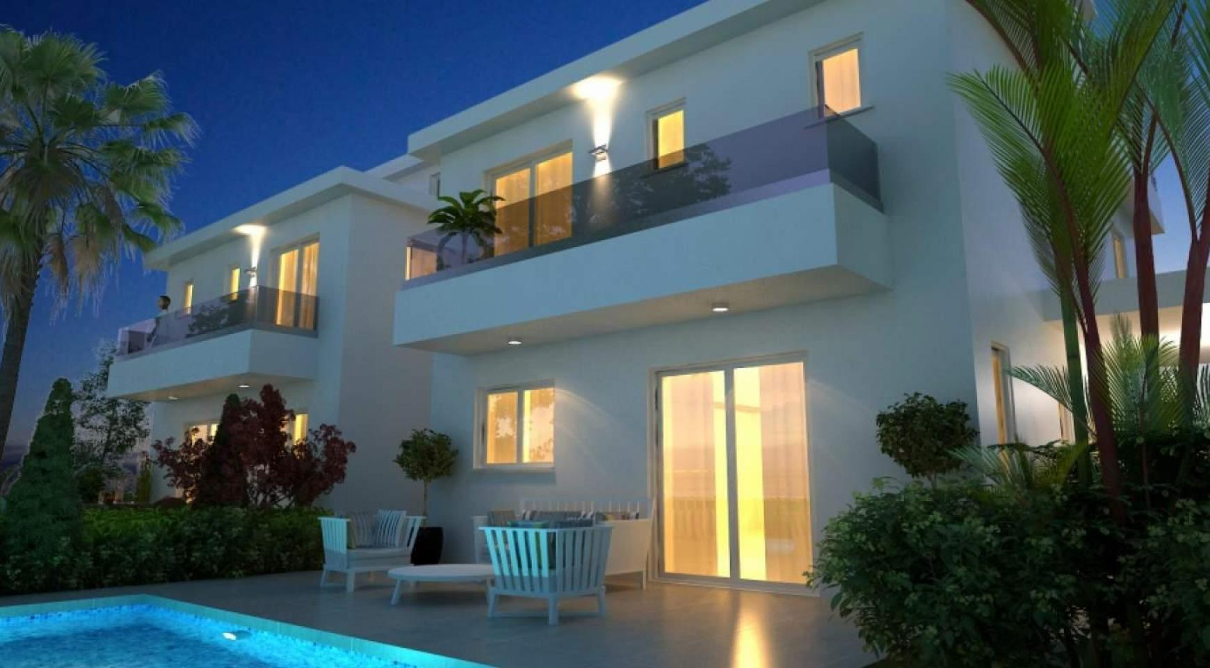 New Modern 4 Bedroom House in Leivadia Area - 2