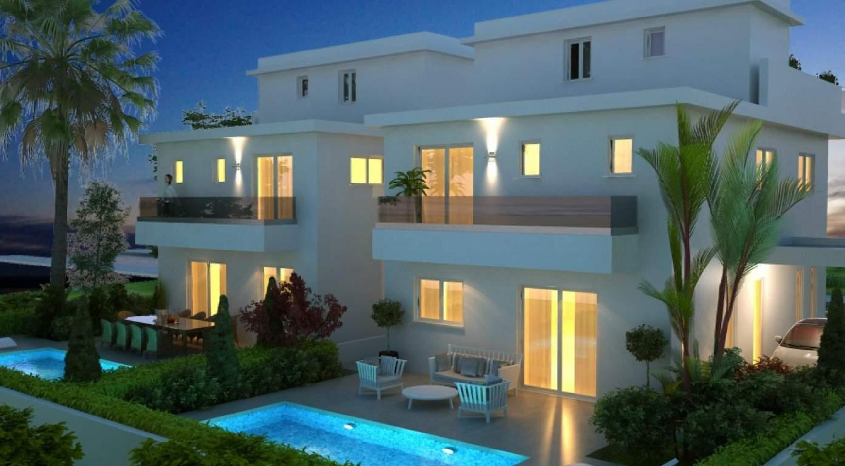 New Modern 4 Bedroom House in Leivadia Area - 1