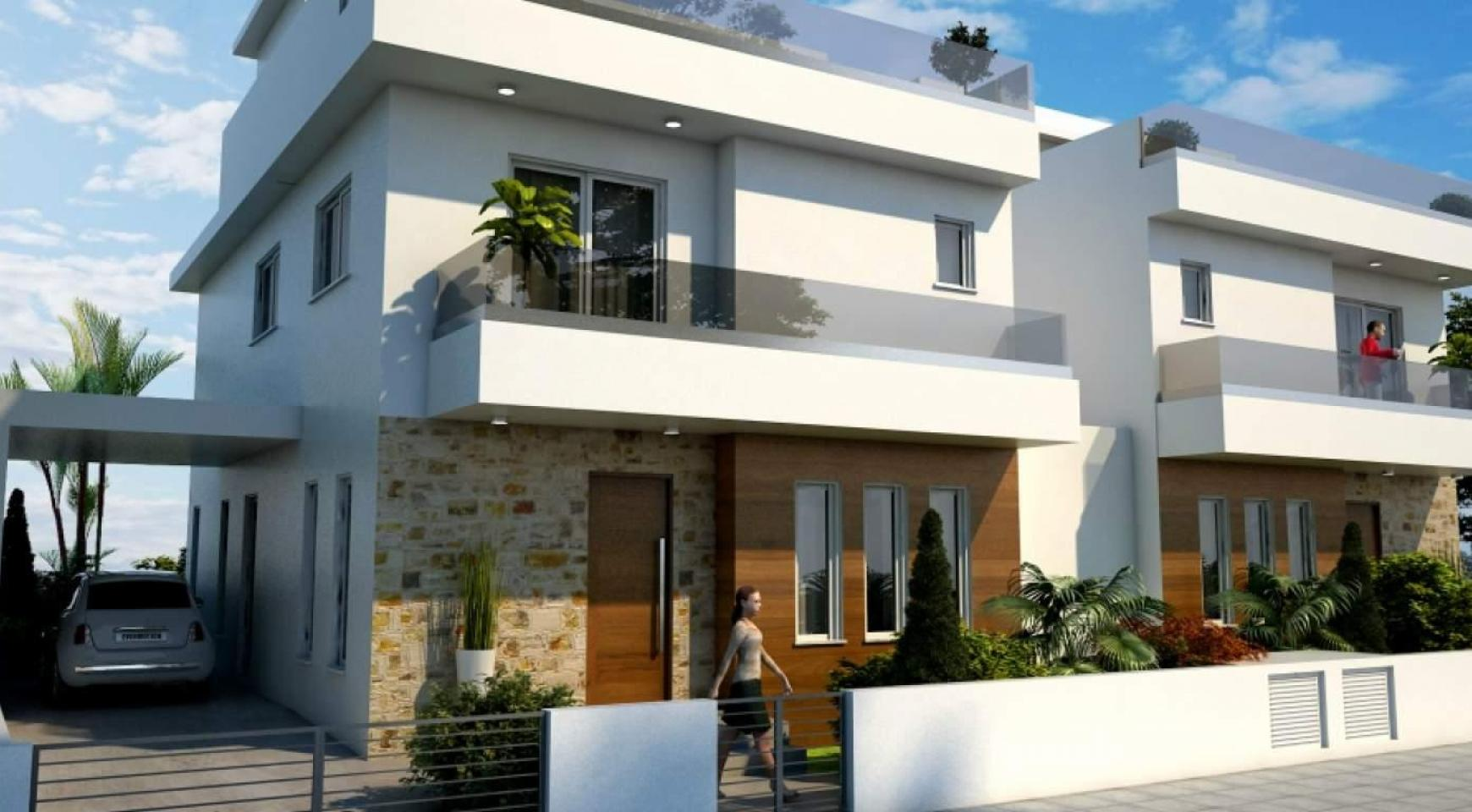 New Modern 4 Bedroom House in Leivadia Area - 8