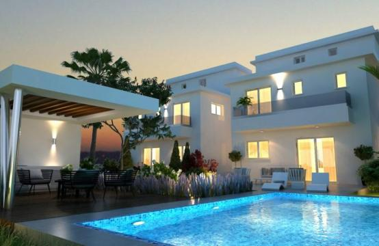 Luxury 4 Bedroom House In Oroklini Area