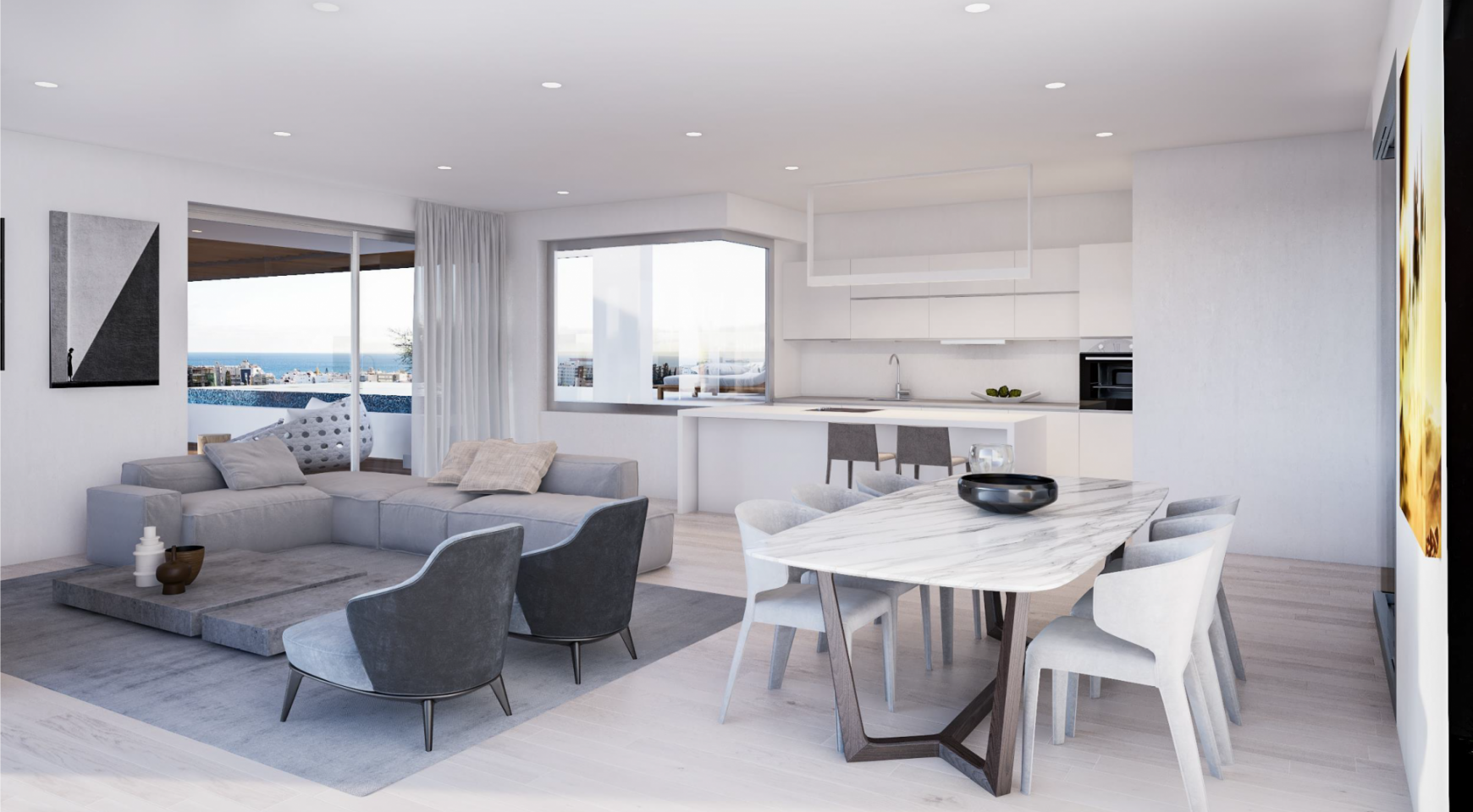 Modern One Bedroom Apartment in a New Complex - 10