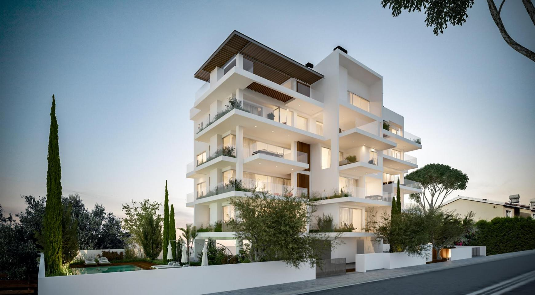 Modern One Bedroom Apartment in a New Complex - 14