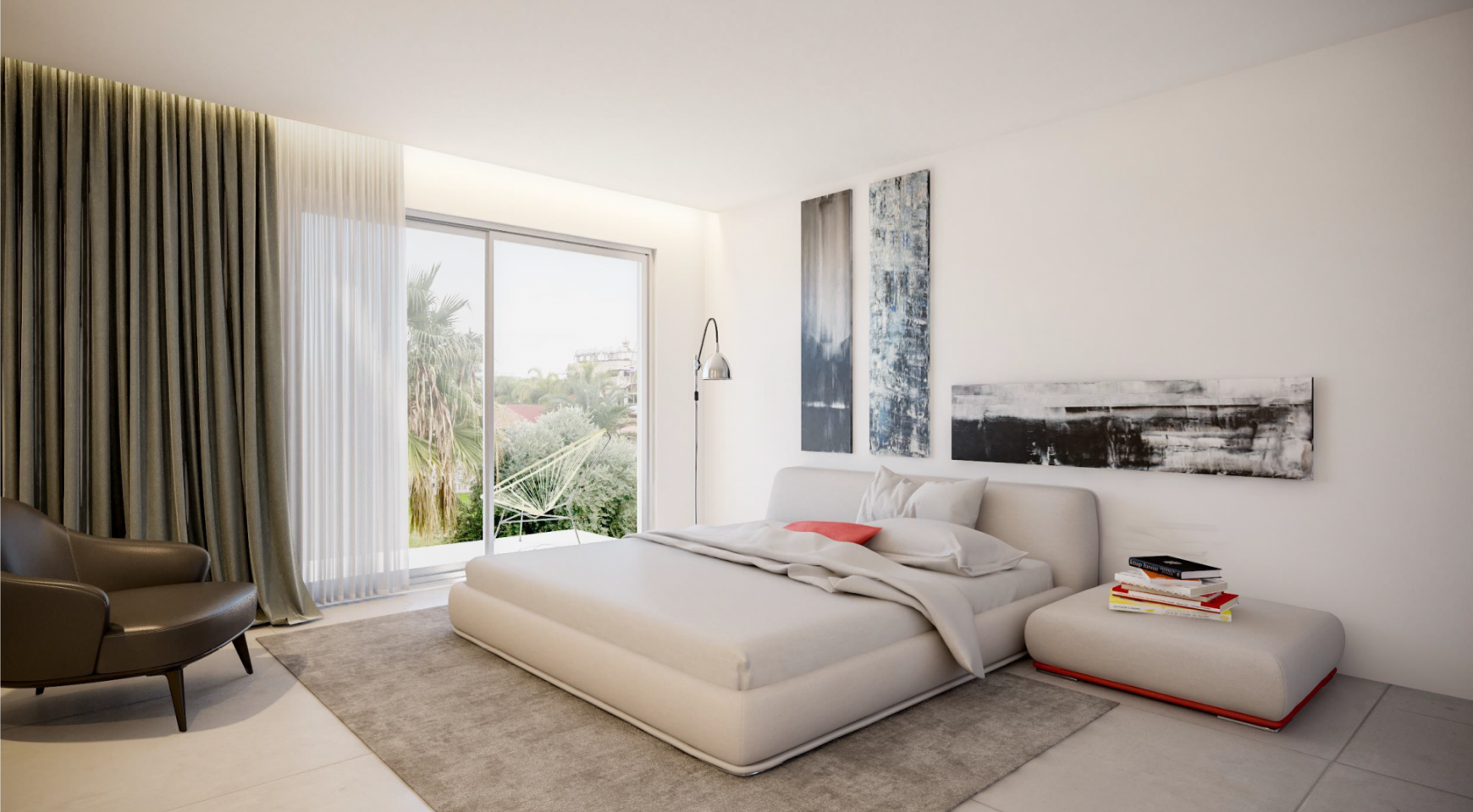 Modern One Bedroom Apartment in a New Complex - 11