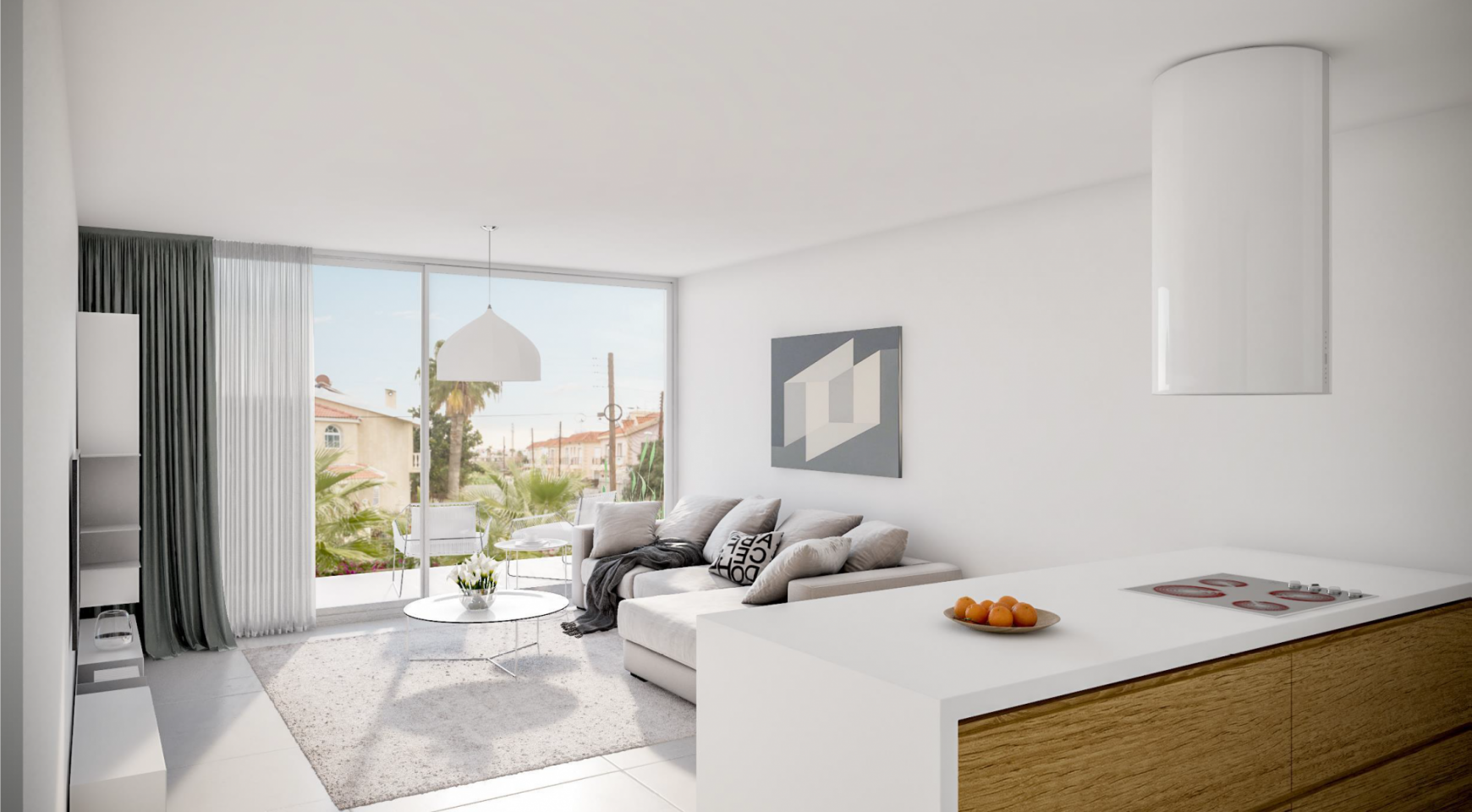 Modern One Bedroom Apartment in a New Complex - 8