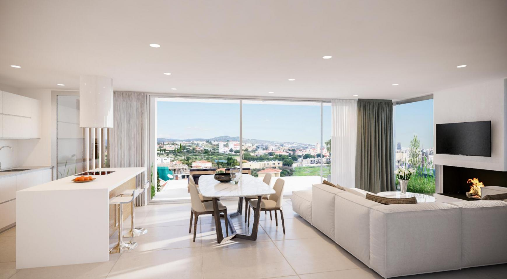 Contemporary 2 Bedroom Apartment in a New Complex - 4