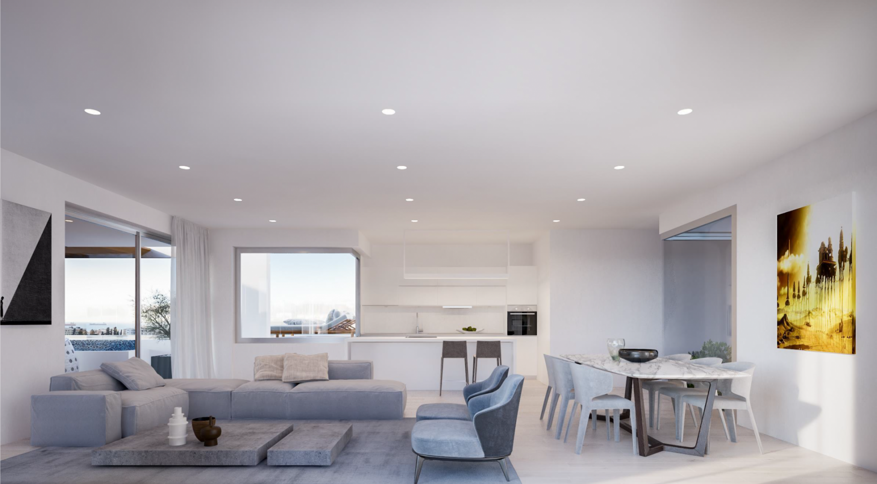 Contemporary 2 Bedroom Apartment in a New Complex - 5