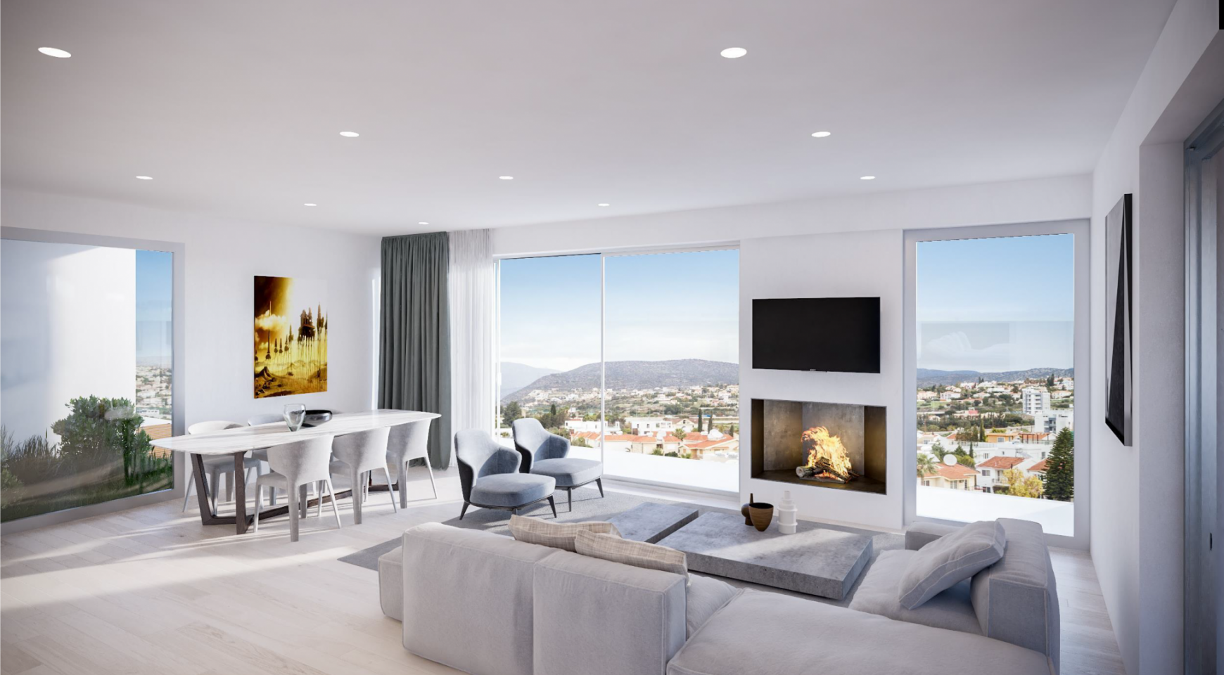 Contemporary 2 Bedroom Apartment in a New Complex - 2