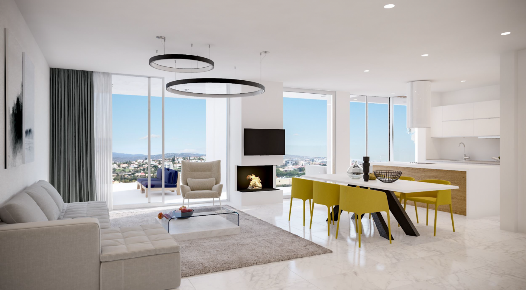 Contemporary 2 Bedroom Apartment in a New Complex - 1