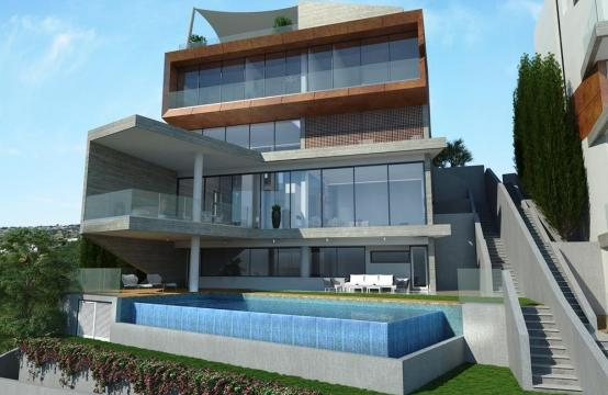 4 Bedroom Villa with Sea View in Agios Tychonas Area