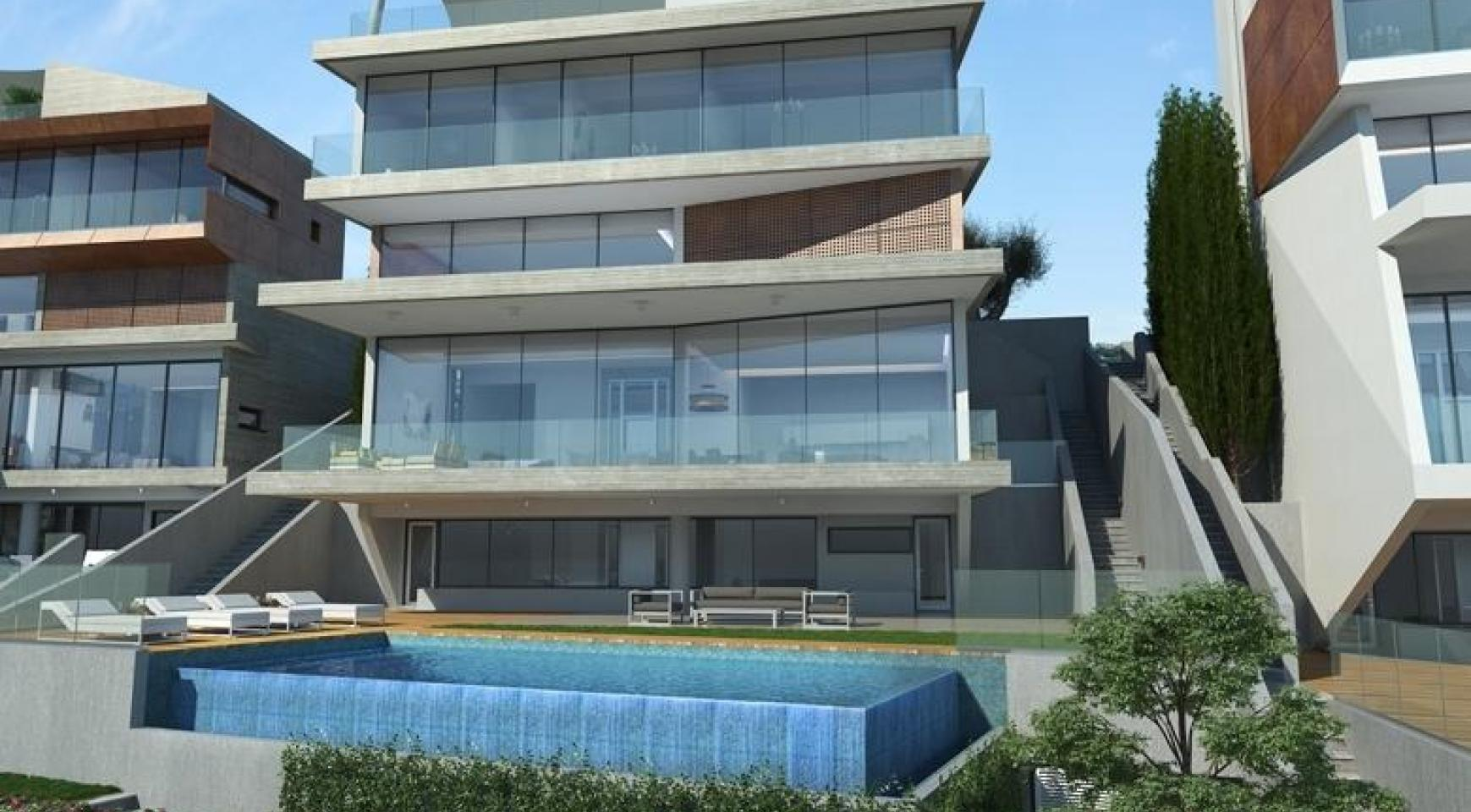Modern Villa with Amazing Sea and City Views in Agios Tychonas Area - 2