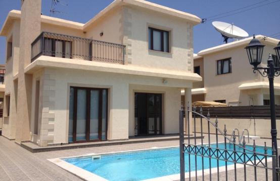 4 Bedroom Villa with Sea and Mountain Views in Pissouri Village