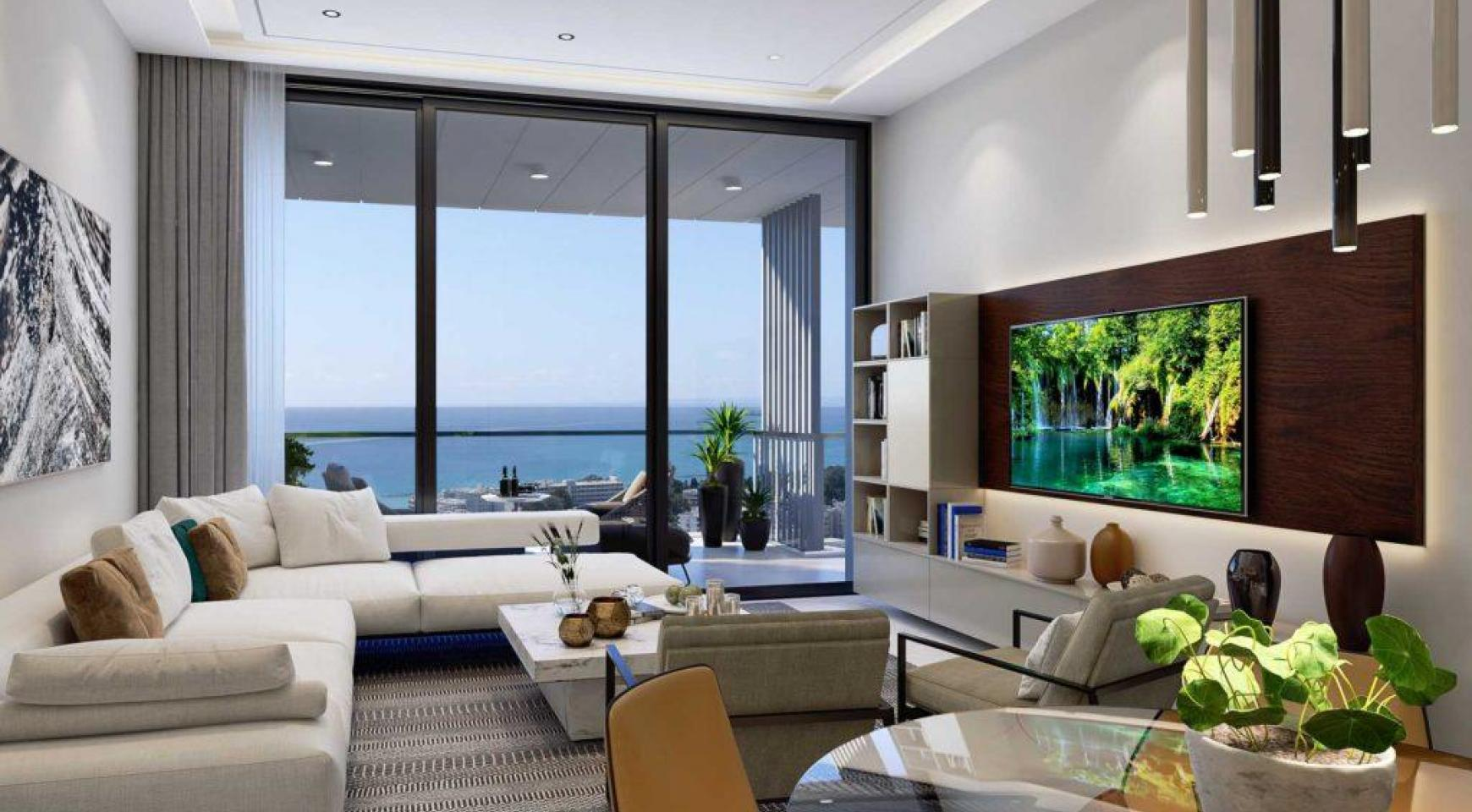Spacious One Bedroom Apartment with Sea Views in a Luxury Complex - 2