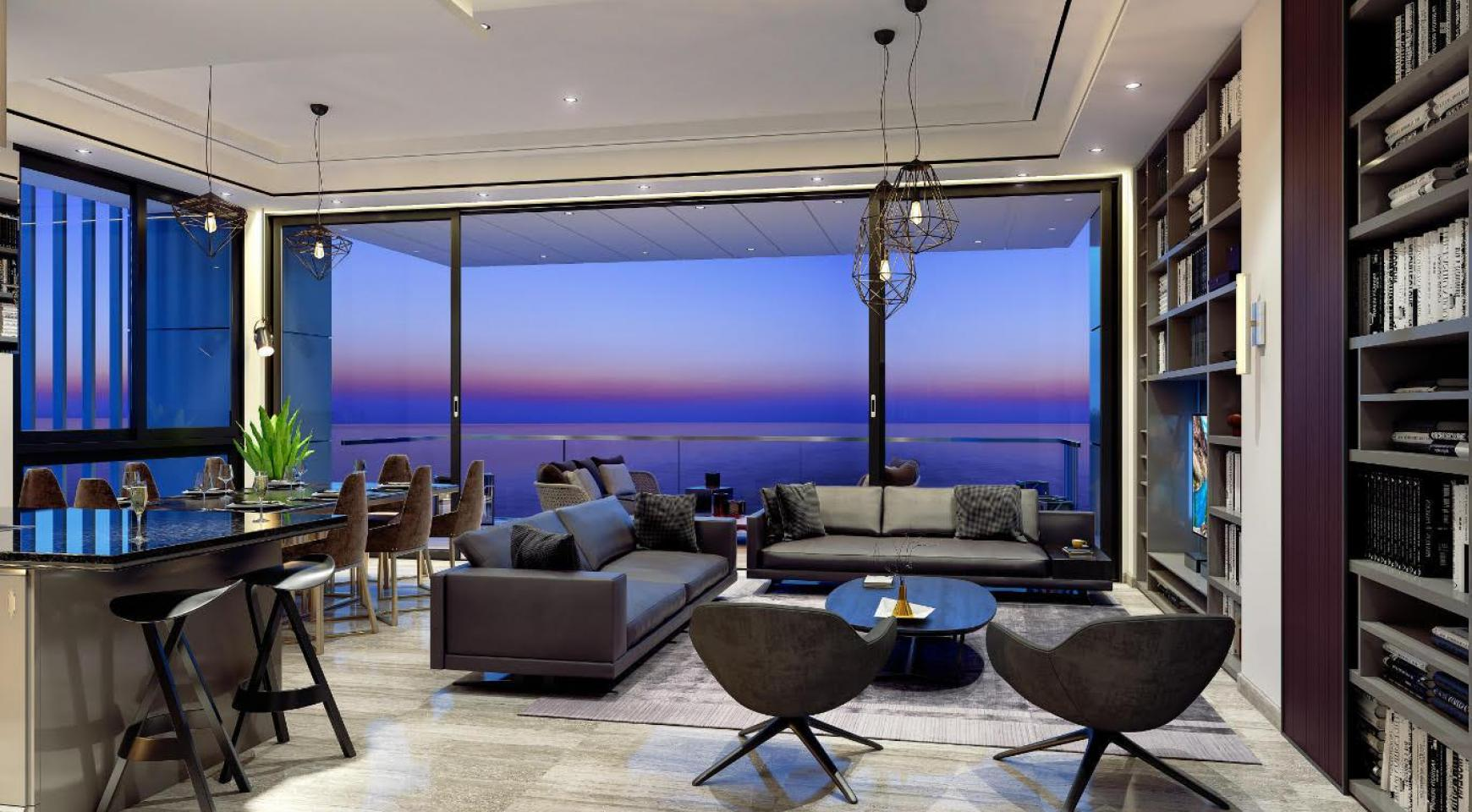 Spacious One Bedroom Apartment with Sea Views in a Luxury Complex - 3