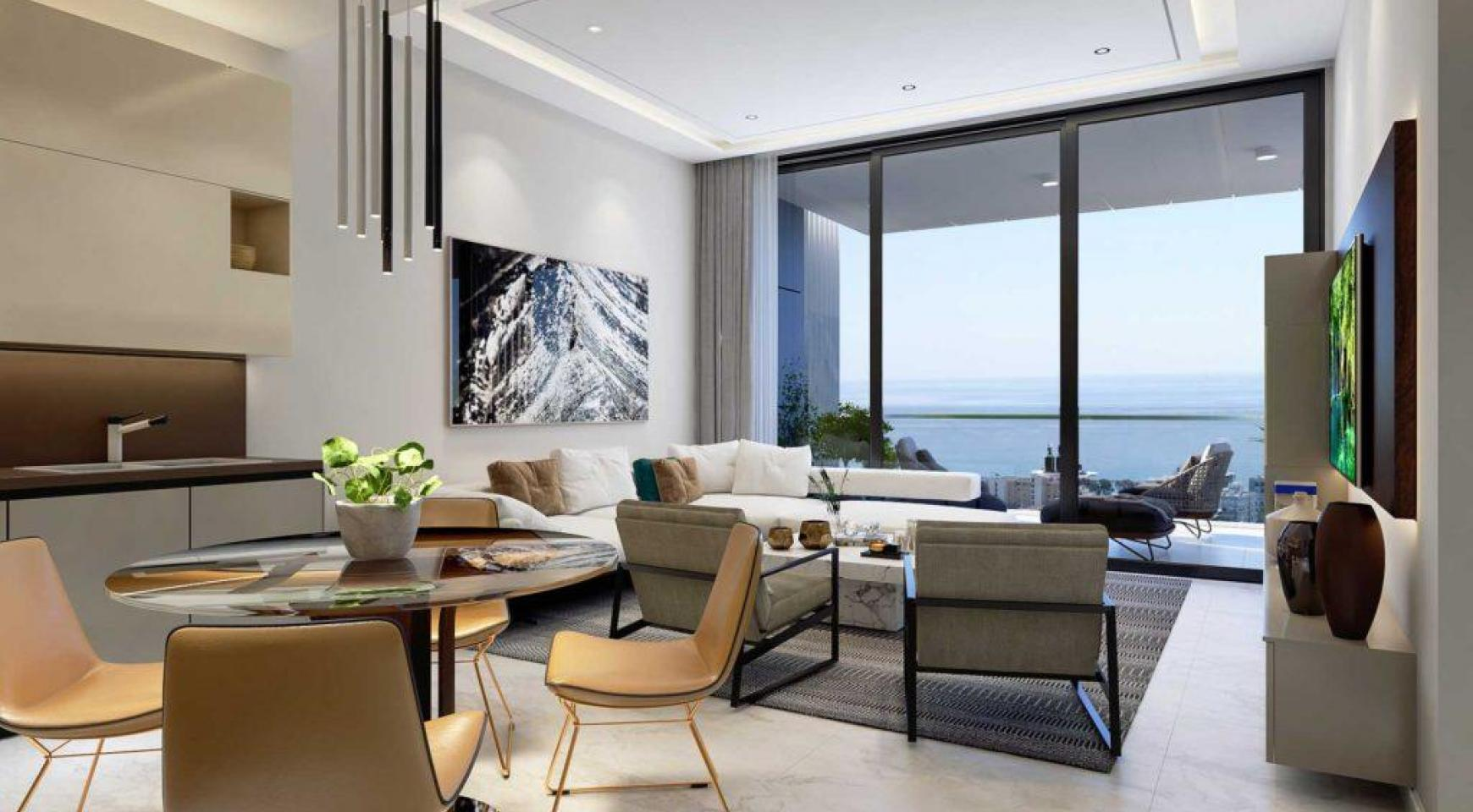 Contemporary 2 Bedroom Apartment with Sea Views in a Luxury Complex - 2