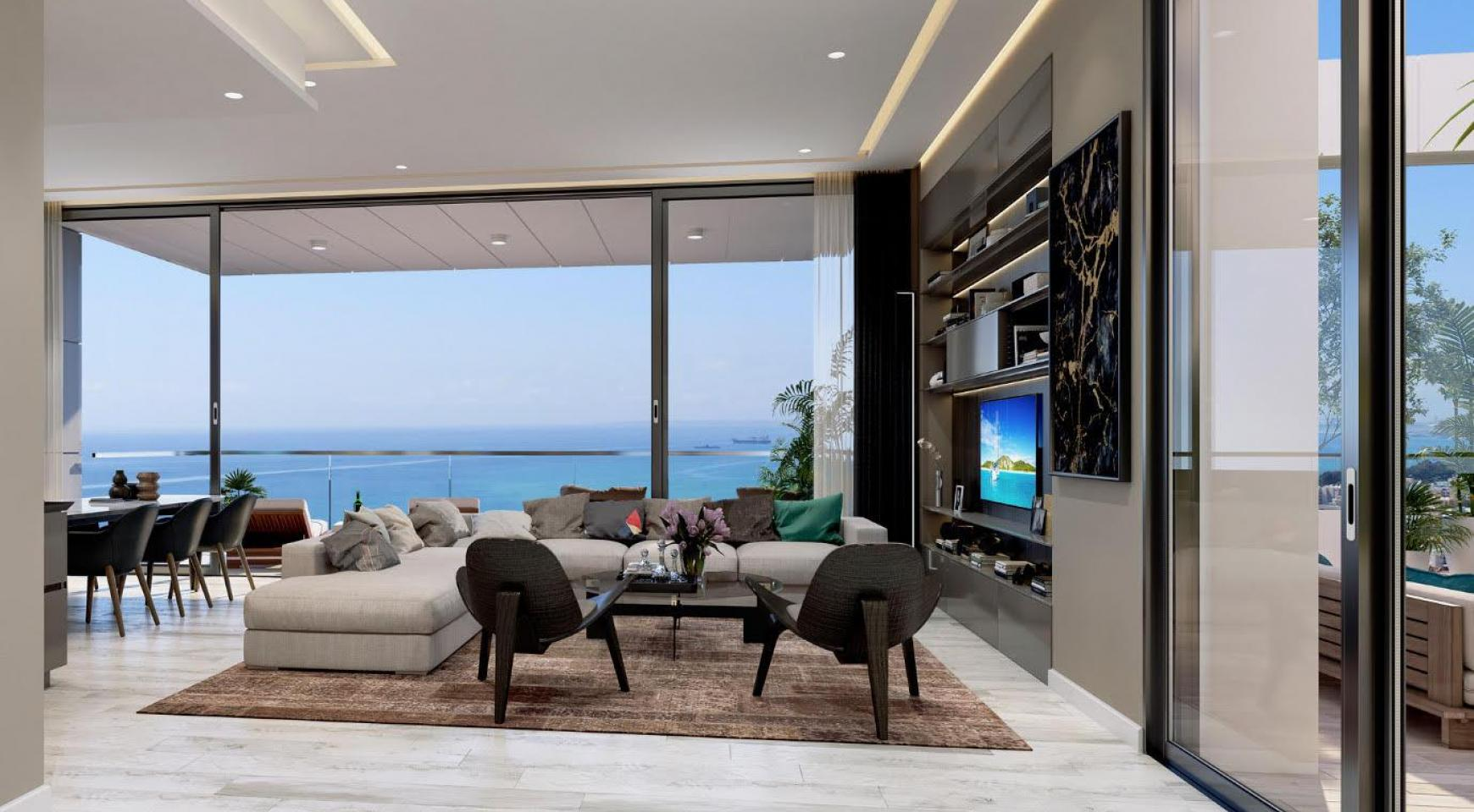 Contemporary 2 Bedroom Apartment with Sea Views in a Luxury Complex - 3