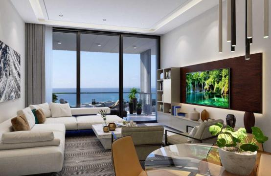 Contemporary 2 Bedroom Apartment with Sea Views in a Luxury Complex