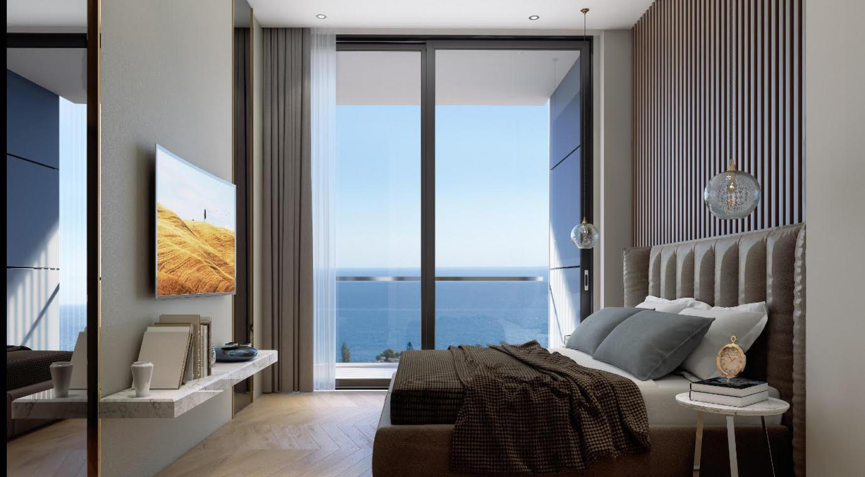 Contemporary 3 Bedroom Apartment with Sea Views in a Luxury Complex - 9
