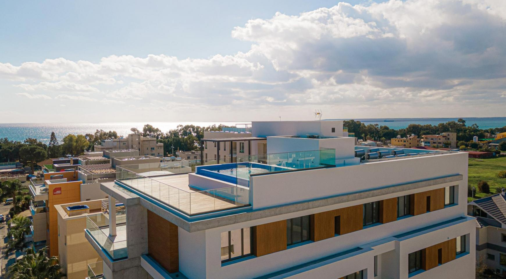Hortensia Residence, Apt. 102. 2 Bedroom Apartment within a New Complex near the Sea  - 6