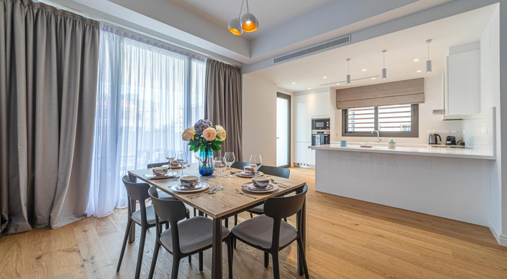 Hortensia Residence, Apt. 103. 3 Bedroom Apartment within a New Complex near the Sea  - 51