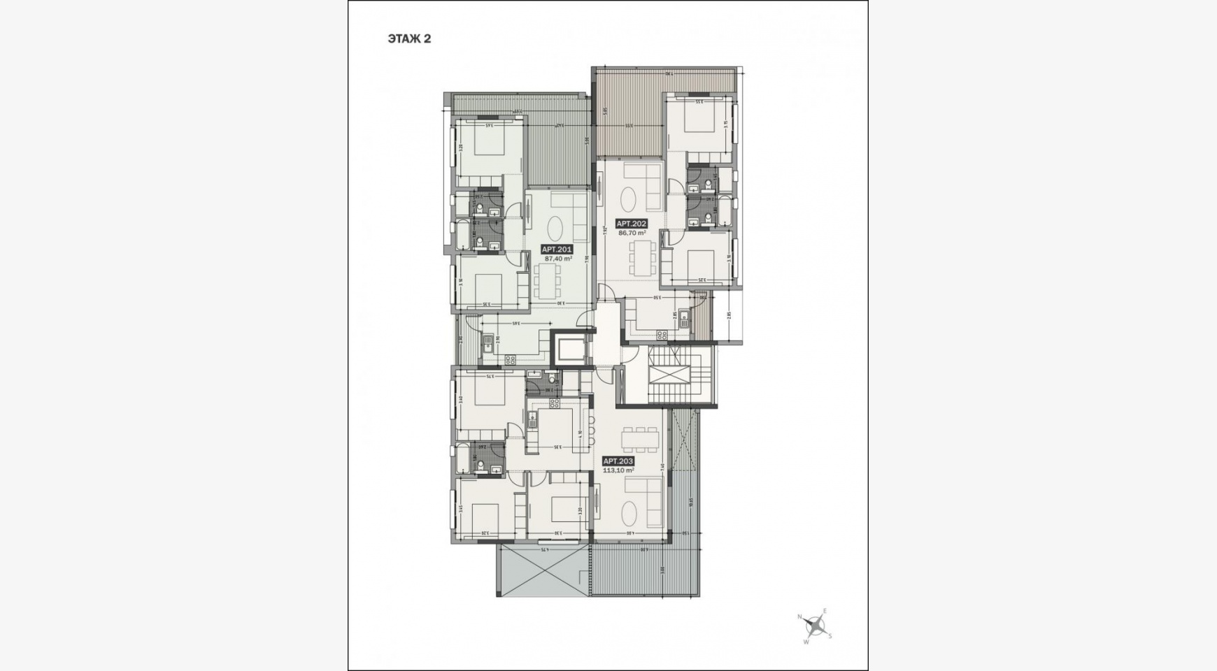 Hortensia Residence, Apt. 203. 3 Bedroom Apartment within a New Complex near the Sea - 31