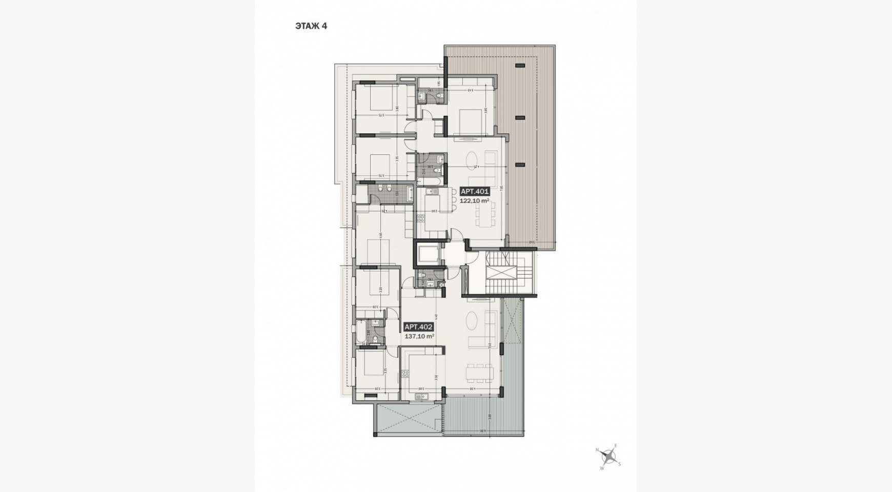 Hortensia Residence, Apt. 203. 3 Bedroom Apartment within a New Complex near the Sea - 33
