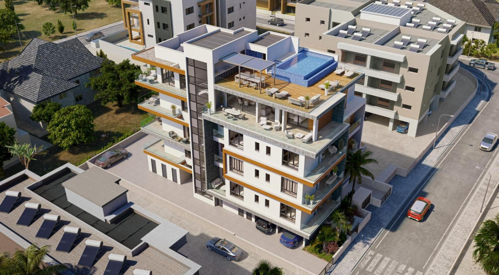HORTENSIA RESIDENCE. Luxury 3 Bedroom Apartment 203 Near the Sea - 6