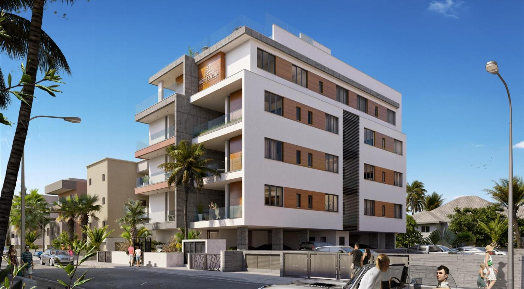 Hortensia Residence, Apt. 203. 3 Bedroom Apartment within a New Complex near the Sea - 2